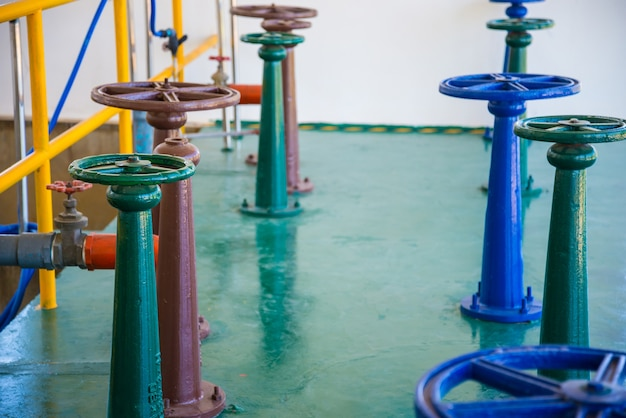 Control water gate valve