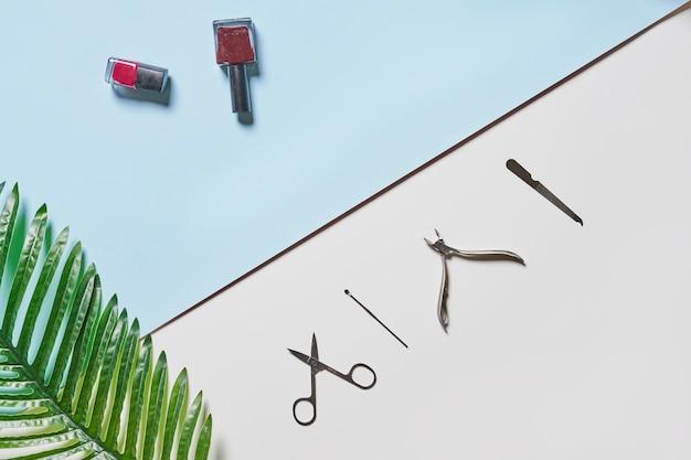 격리 된 기존의 화장품 도구