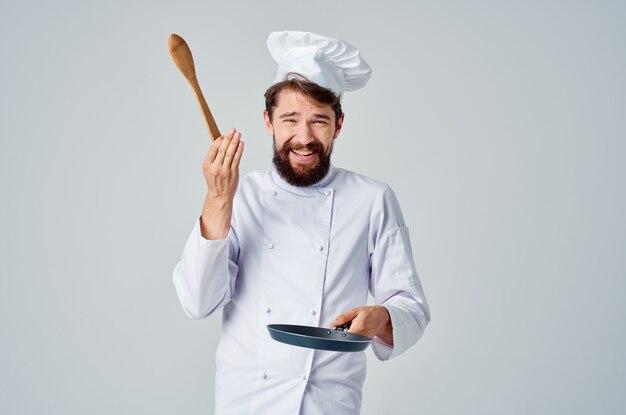 주방 용품으로 요리 레스토랑 주방 일