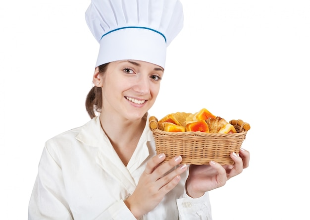 Cook with pastry