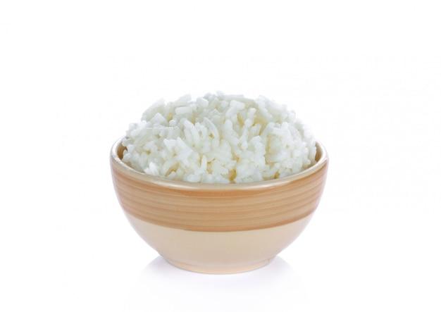 Вареный рис в японской миске