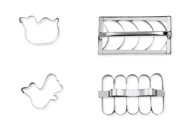 Cookie cutters for cake decorating