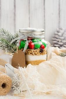 Микс печенья как рождественский подарок