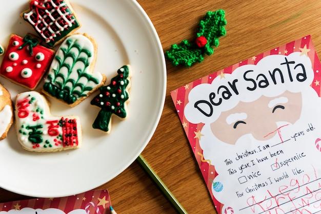 Печенье для санта-клауса