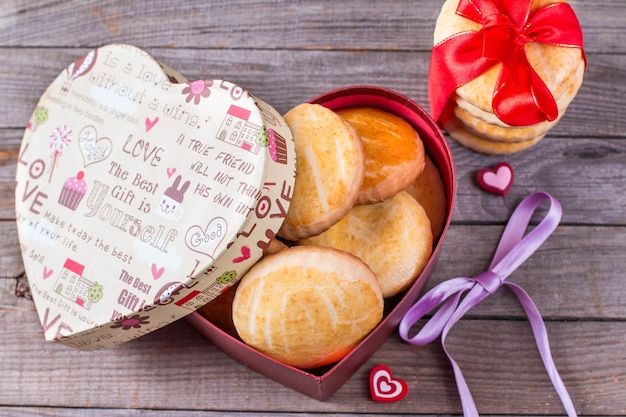 バレンタインデーのクッキー