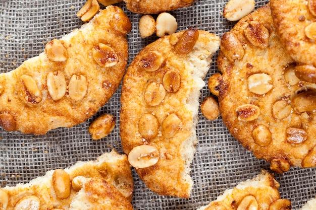 さまざまな材料のクッキー