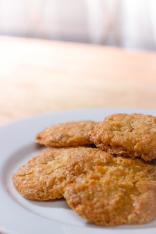 Cookies from the oven are savory and delicious