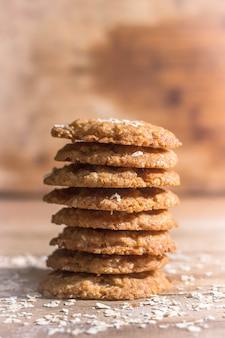 オーブンからのクッキーは美味しくて美味しいです