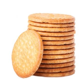 열에 배치 된 쿠키