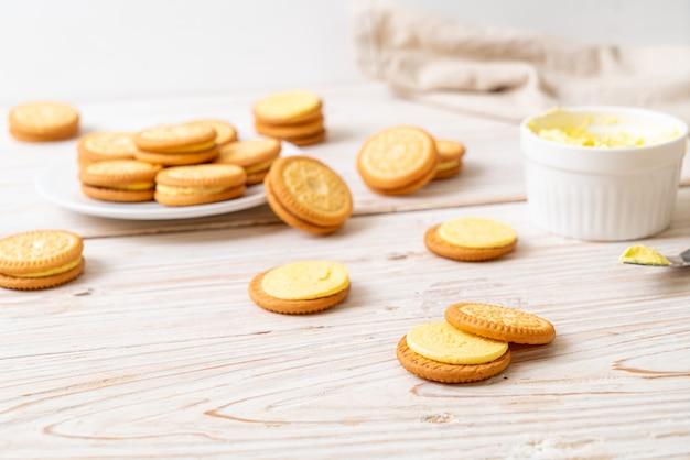 버터 크림 쿠키