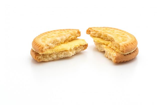 バターバニラクリームとクッキー