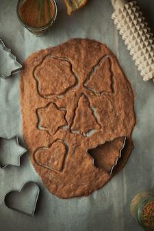 クリスマスクッキー、ジンジャーブレッドビスケットの調理