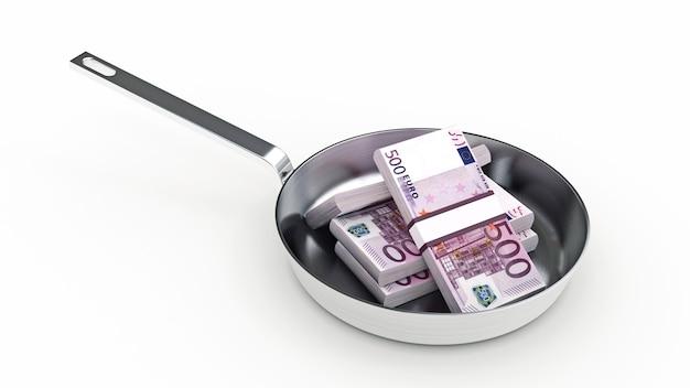 Сковорода и полно денег
