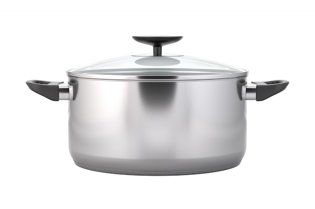 Cooking pot isolated