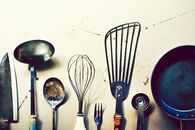 カウンタートップの調理器具