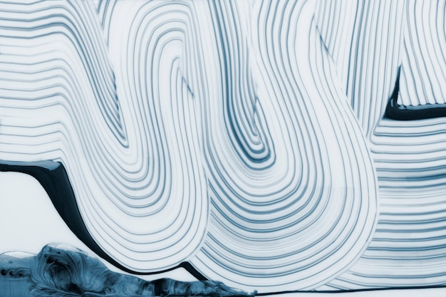 Cool blue textured background wavy pattern abstract art