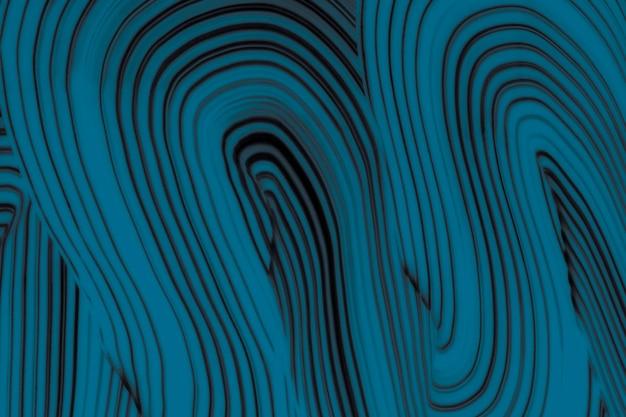 Arte astratta del modello ondulato del fondo strutturato blu fresco