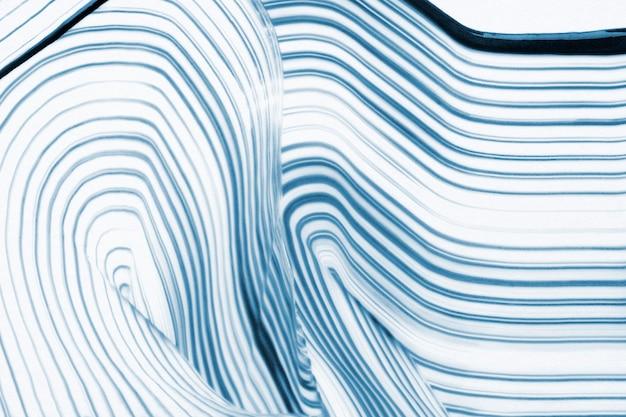 멋진 파란색 질감된 배경 물결 패턴 추상 미술