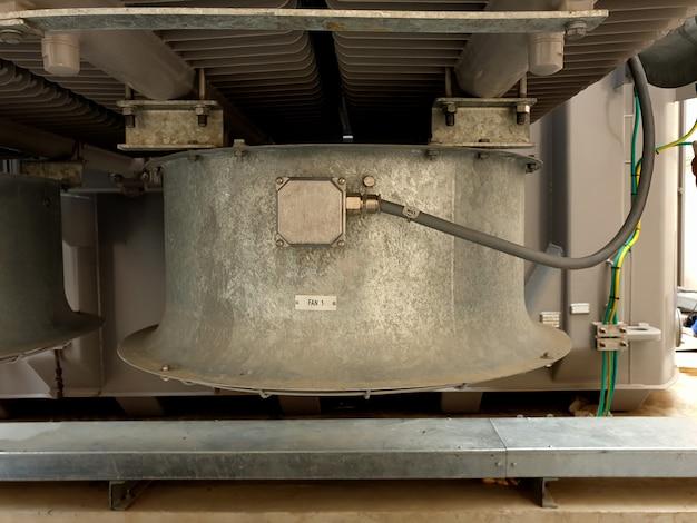 11522kv電源トランスの冷却ファン