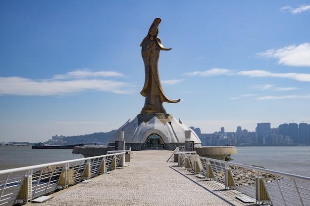 Статуя будды купера гуань инь в макао