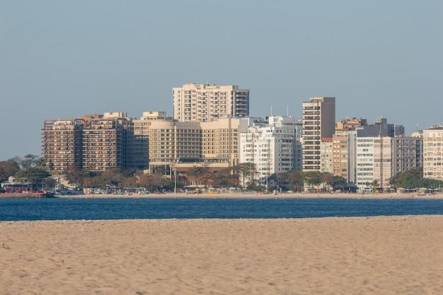 브라질 리우데자네이루 코파카바나 해변.