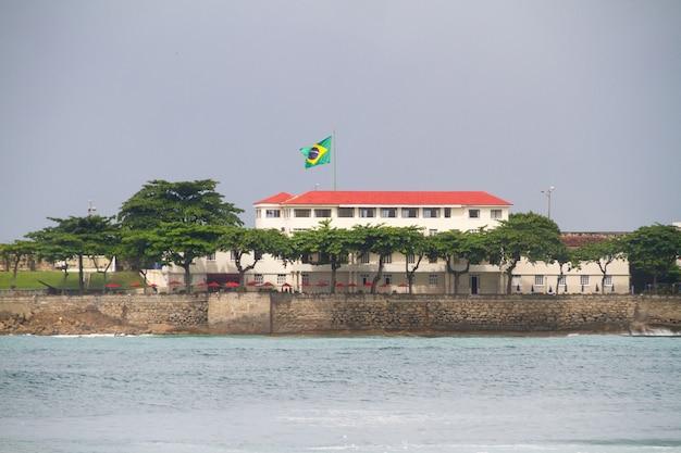 리우데 자네이루 브라질의 코파카바나 해변.