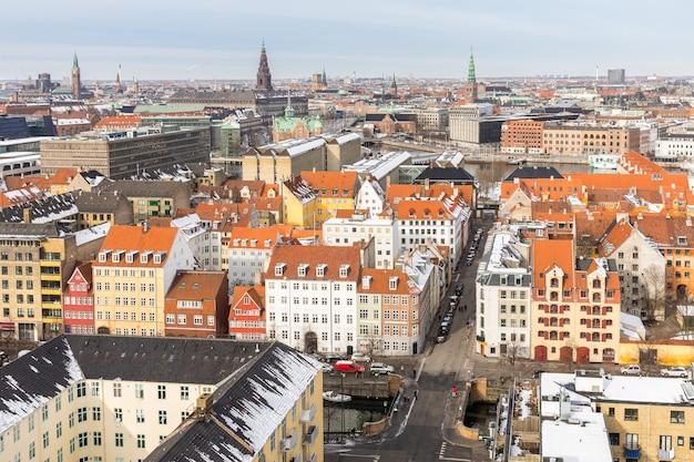 コペンハーゲン航空写真