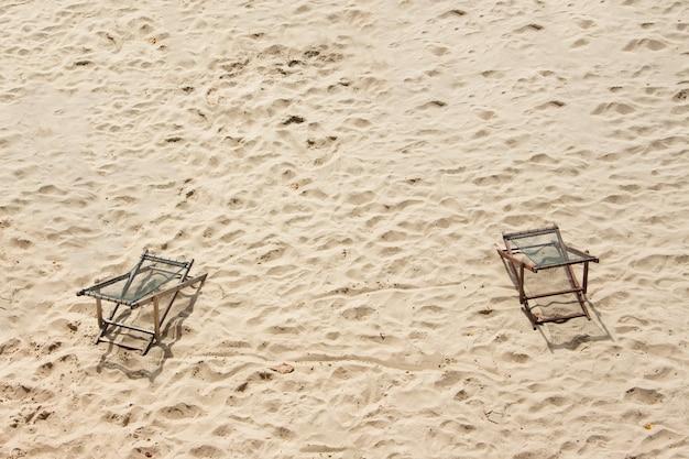 Cople wood chairs on the beach