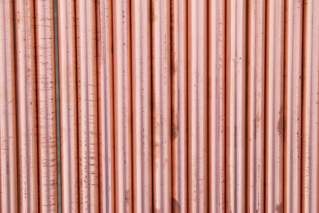 Copper pipes can be used for abstract industrial background