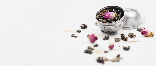 Copy-sapce herbs for tea