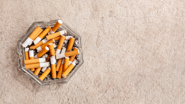 煙草のコピースペース