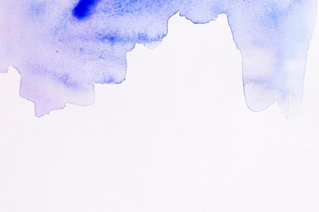 コピースペースブルー水彩背景