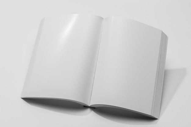 Copy space document book
