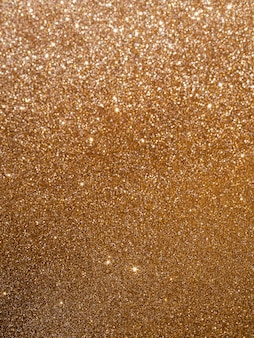 Copy space glossy gradient gold background