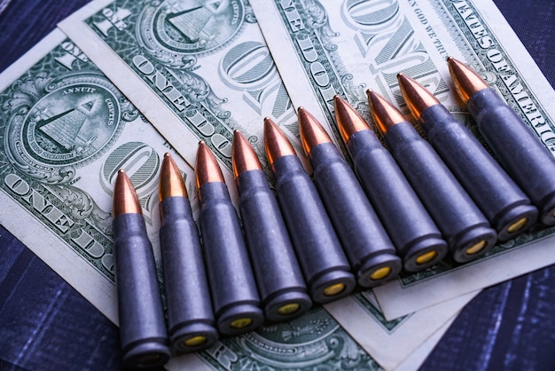 Copy space gun cartridges are on dollars