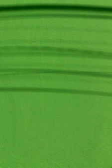 Copy space painted green concrete wall