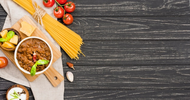 コピースペースspaghetiiボロネーゼの成分