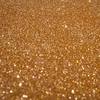 Copy space sparkly gold background