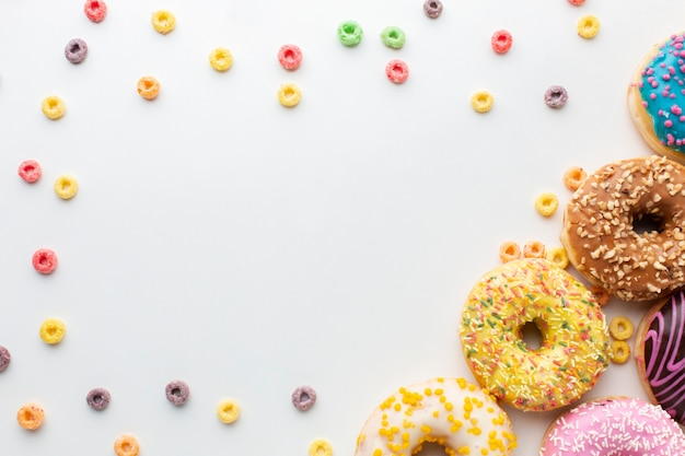 Копировать пространство в окружении пончиков