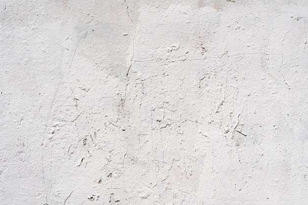 Copy space white outdoors old wall