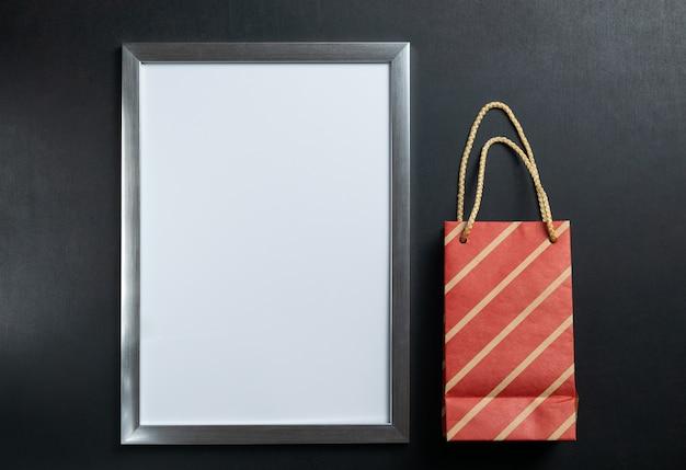 Copyspaceと空白の白いフレーム