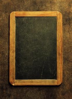 Пустая рамка для классной доски, фон copyspace