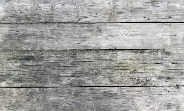 木製木製古いビンテージグレーデスク背景copyspaceフラット横たわっていたトップビュー