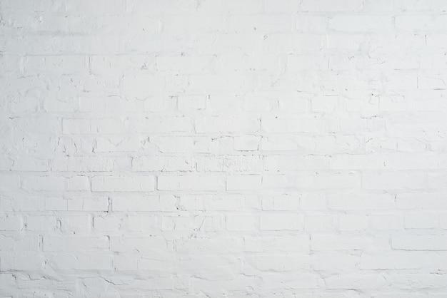 白いレンガの壁のテクスチャ背景。空のきれいなcopyspace