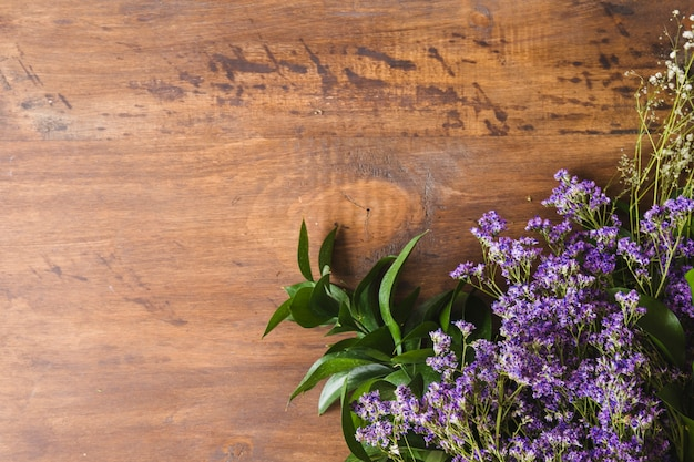Copyspaceと花の父の日の構成
