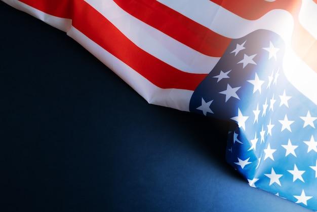 Copyspaceとアメリカの国旗