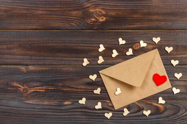 休日の装飾、copyspaceのバレンタインギフト