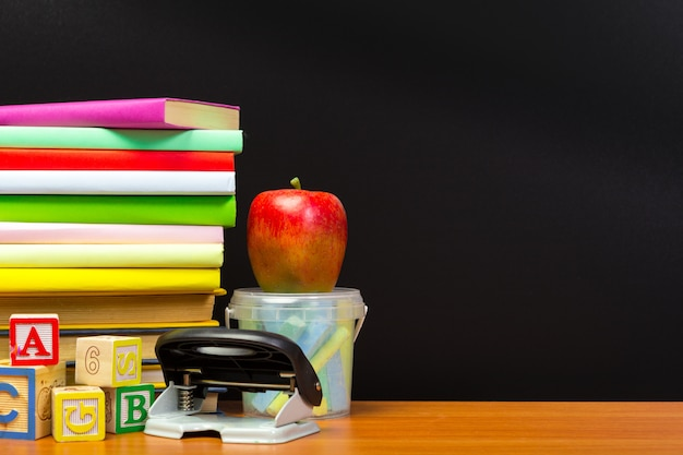 教育や学校に戻るcopyspaceの概念