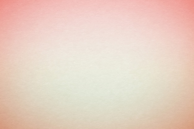 Coral and beige gradient paper texture