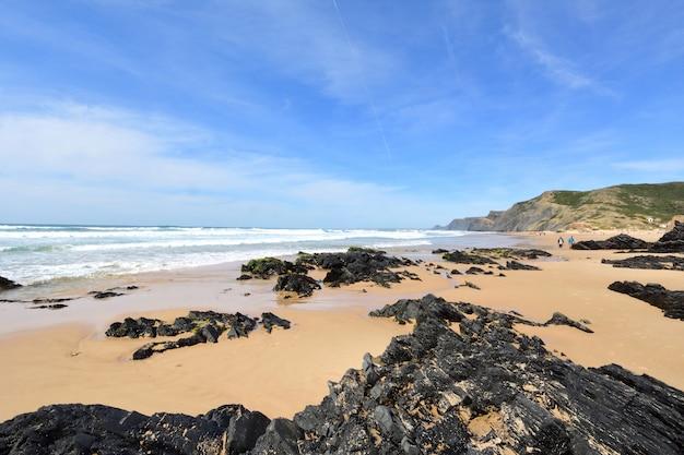 Cordoama beach, vila do bispo, algarve, portugal